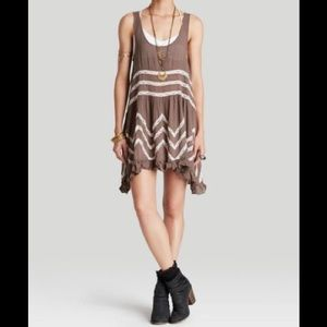 Intimately by Free People lace voile trapeze slip
